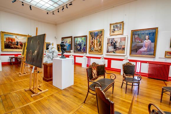 musee des beaux arts libourne galerie