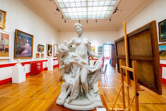 musee des beaux arts libourne statue