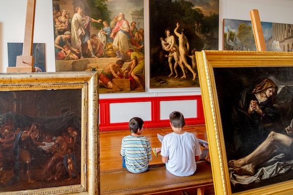 musee des beaux arts libourne enfants